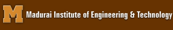 Department | MIET- Madurai Institute of Engineering and Technology